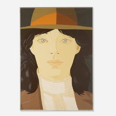 Alex Katz - The Orange Band
