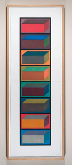 Eight Cubic Rectangles (Diptych)
