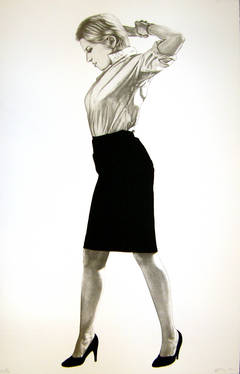 Cindy, 2002 - Robert Longo portrait of Cindy Sherman
