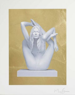 Sphinx Gold Leaf, Marc Quinn 2014