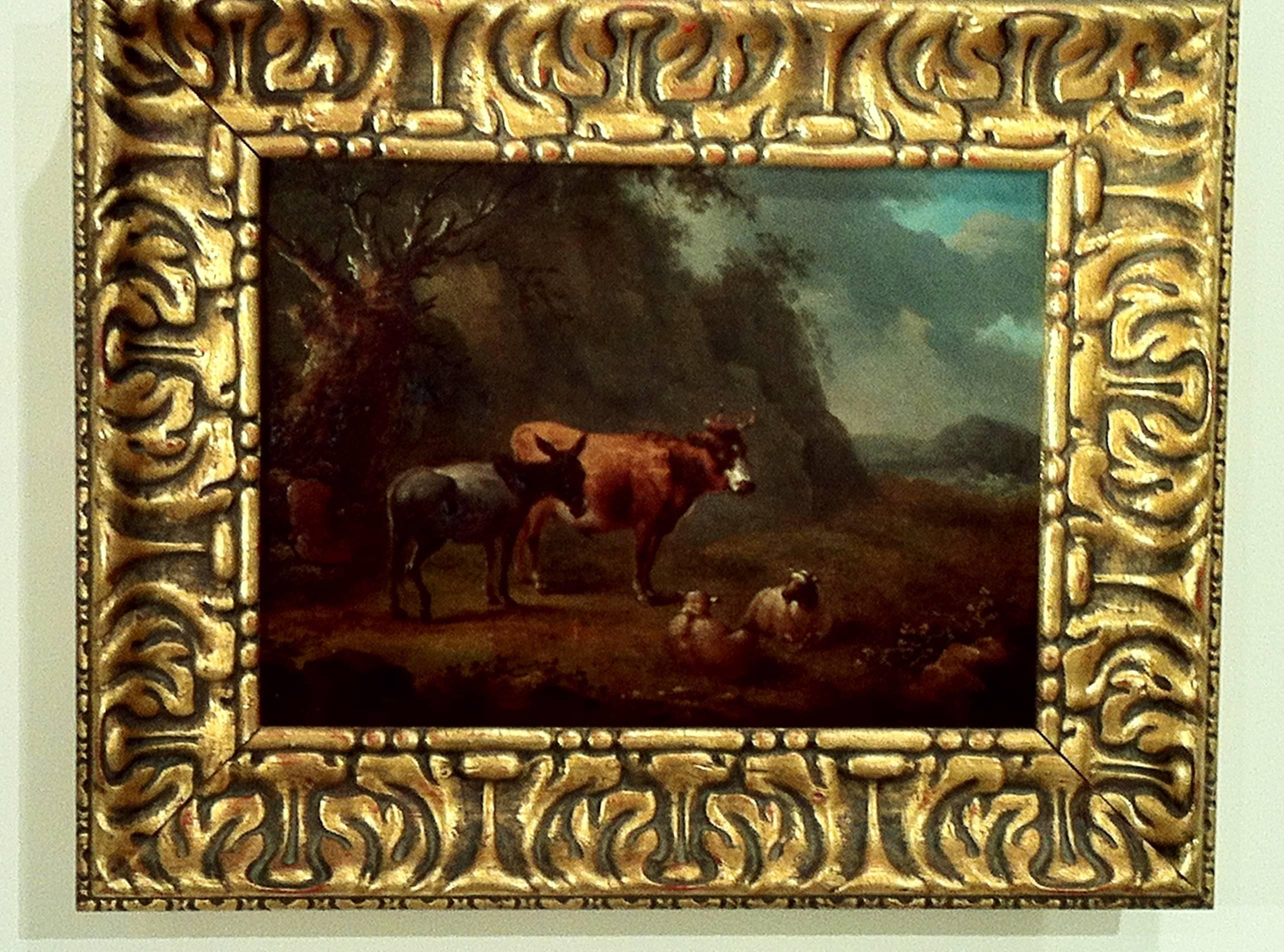 Landscape Old Masters Dutch Painting