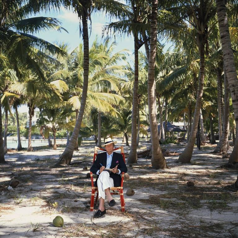 'Abaco Islander' Bahamas 1986 (Slim Aarons Estate Stamped Edition) - Photograph by Slim Aarons