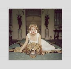 'Beauty And The Beast' by Slim Aarons (Perspex face mounted Aluminium Dibond)