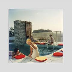 'Penthouse Pool' Athens 1961 (Perspex face mounted Aluminium Dibond)