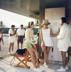 'Tennis In The Bahamas' 1957  (Archival Pigment Print)