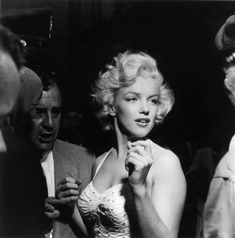Murray Garrett Marilyn Monroe 1953 Silver Gelatin Print