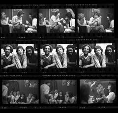 'Bob, Mick & Pete - Contact Sheet ' 1978  (Signed Limited Edition)