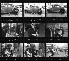 'Tom Waits - Contact Sheet' 1976 (Signed Limited Edition)