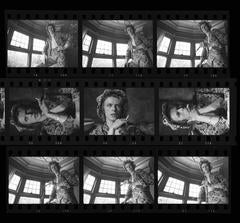 'David Bowie - Contact Sheet' 1972 (Signed Limited Edition)