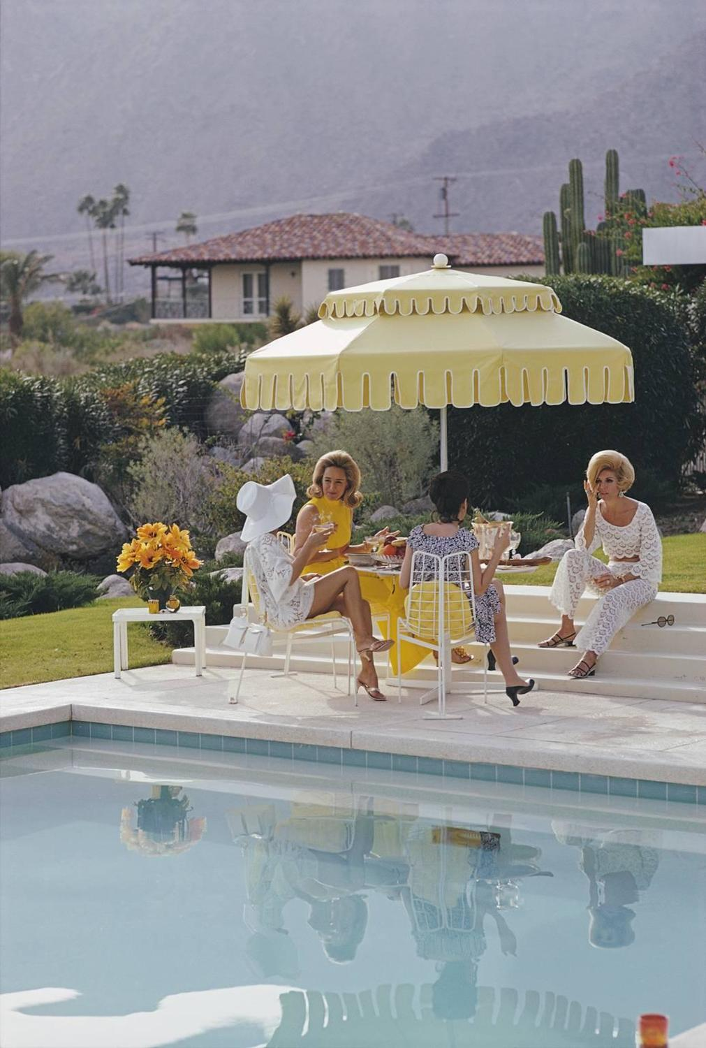 Slim Aarons Nelda And Friends Palm Springs Archival