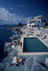 'Hotel Du Cap Eden-Roc' Antibes (Slim Aarons Estate Stamped Limited Edition)