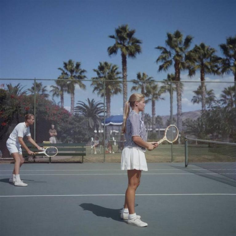 'Tennis In San Diego' California (Slim Aarons Estate Edition)
