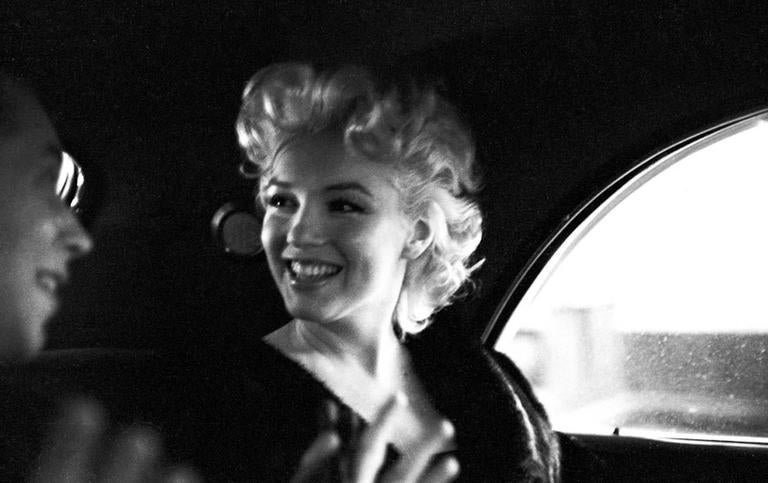 'Marilyn In New York Taxi Cab' (Limited Edition)