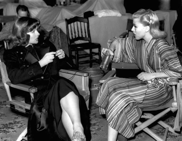 'Rogers & Hepburn Chat On Set' (Limited Edition)