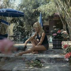 'Brigitte Bardot' (Perspex face mounted Aluminium Dibond)