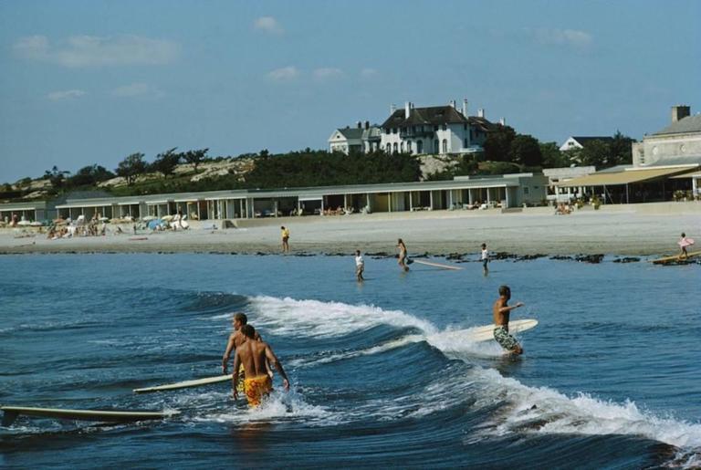 'Rhode Island Surfers' (Estate Stamped Edition)