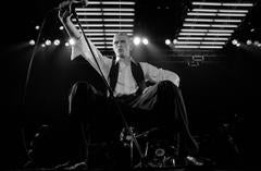 'David Bowie On Stage At Wembley' 1976  (Signed Limited Edition)