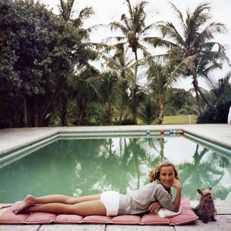Slim Aarons - 'Having A Topping Time'  (Estate Stamped Edition) 1