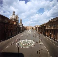 'Piazza Navona' Rome (Estate Stamped Edition)