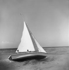 'Jamaica Sea Sailing'  (Slim Aarons Estate Edition)