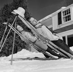 'New England Skiing' (Slim Aarons Estate Edition)