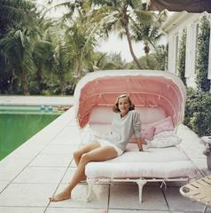 Slim Aarons - 'Palm Beach Pastels' (Estate Stamped Edition)