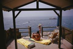 'Beach Hut In Antibes'  (Estate Stamped Edition)