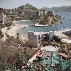 'Caleta Beach, Acapulco' (Estate Stamped Edition)