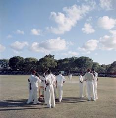 'Cricket In Antigua' West Indies (Slim Aarons Estate Edition)