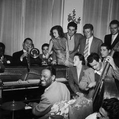 Slim Aarons - 'Dixieland Jam' Rome (Estate Stamped Edition)
