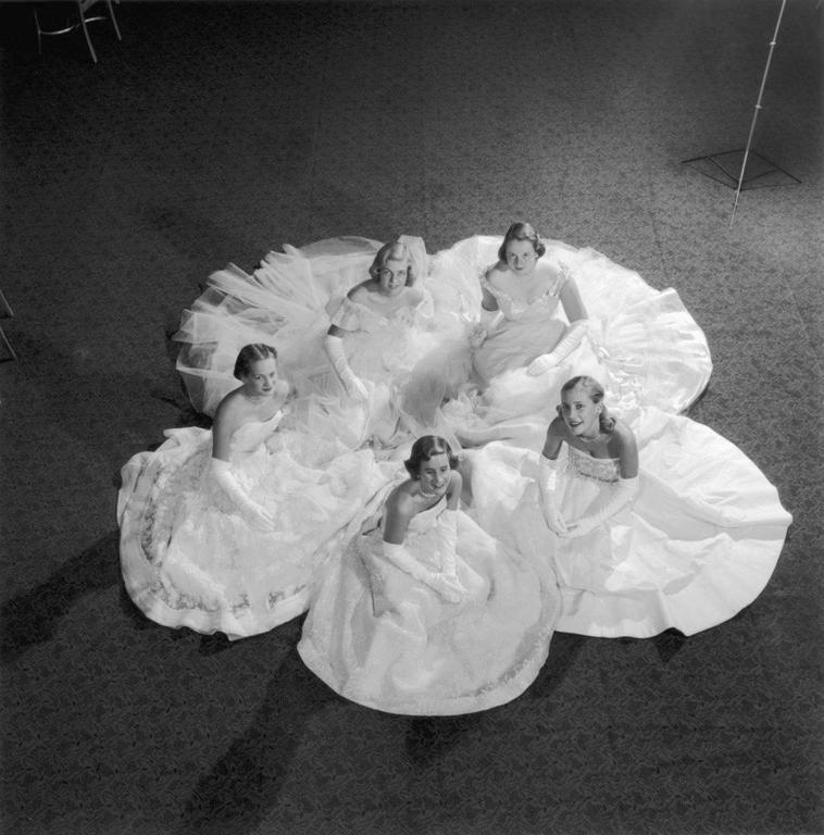 'Five Debutantes' New York  (Estate Stamped Edition)