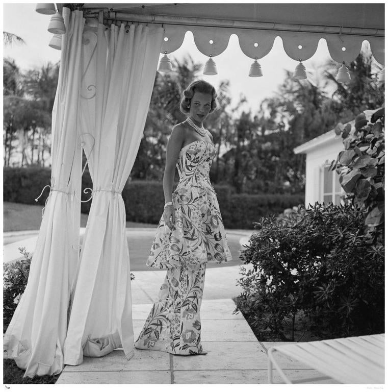 'Evening Dress' U.S.A (Estate Stamped Edition) - Photograph by Slim Aarons
