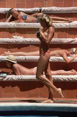 'Catherine Wilke' Capri 1980 (Slim Aarons Estate Edition)