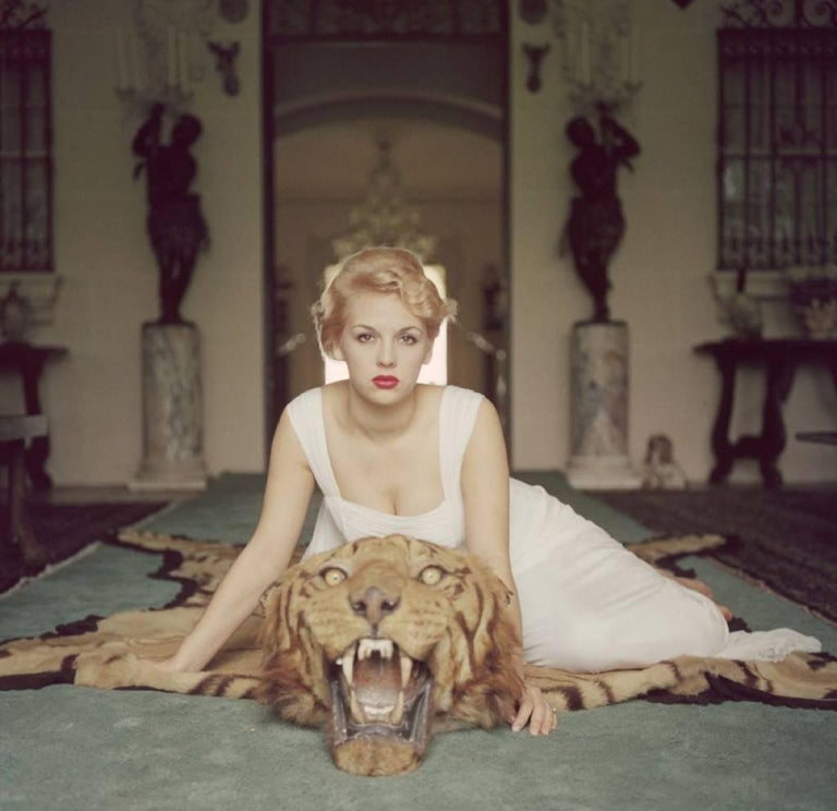 'Beauty And The Beast' hand *SIGNED* Limited Edition Slim Aarons C print