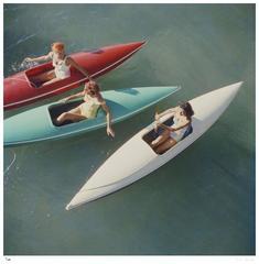 'Lake Tahoe Canoes' (Estate Stamped Edition)