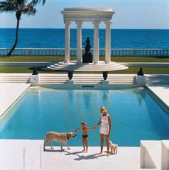 'Nice Pool' Palm Beach (Estate Stamped Edition)