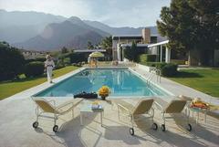 'Kaufmann Desert House' 1970  (Slim Aarons Estate Edition)