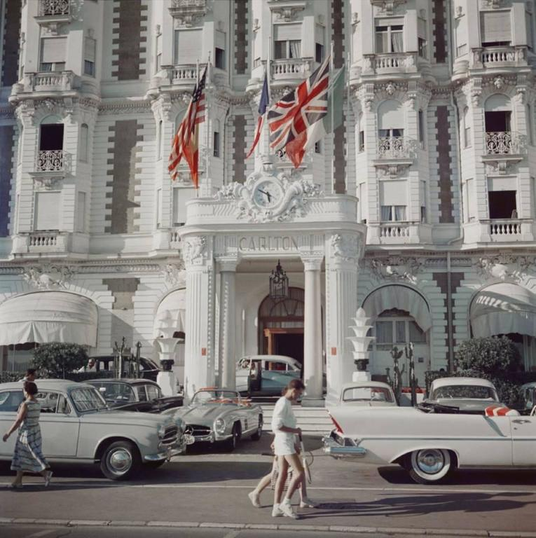 'Carlton Hotel' Cannes (Slim Aarons Estate Edition) - Photograph by Slim Aarons
