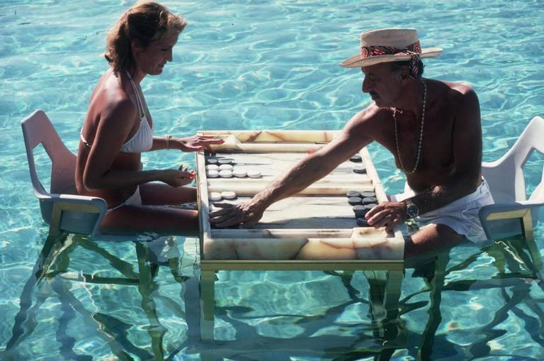 'Keep Your Cool' Acapulco   (Perspex face mounted Aluminium Dibond) - Photograph by Slim Aarons