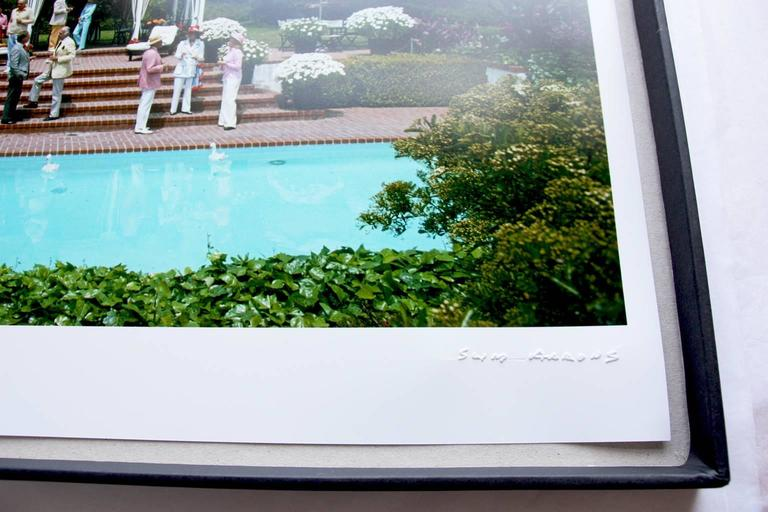 'Britt Ekland' Slim Aarons Estate Edition - Modern Photograph by Slim Aarons