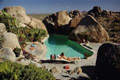 Slim Aarons 'Sunbathing In Arizona' (Estate Stamped Edition)