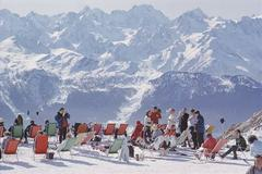 'Lounging In Verbier' (Estate Stamped Edition)