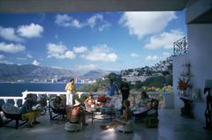 'Guests At Villa Nirvana' (Estate Stamped Edition)