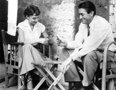'Audrey Hepburn & Gregory Peck Play Cards' (Limited Edition)