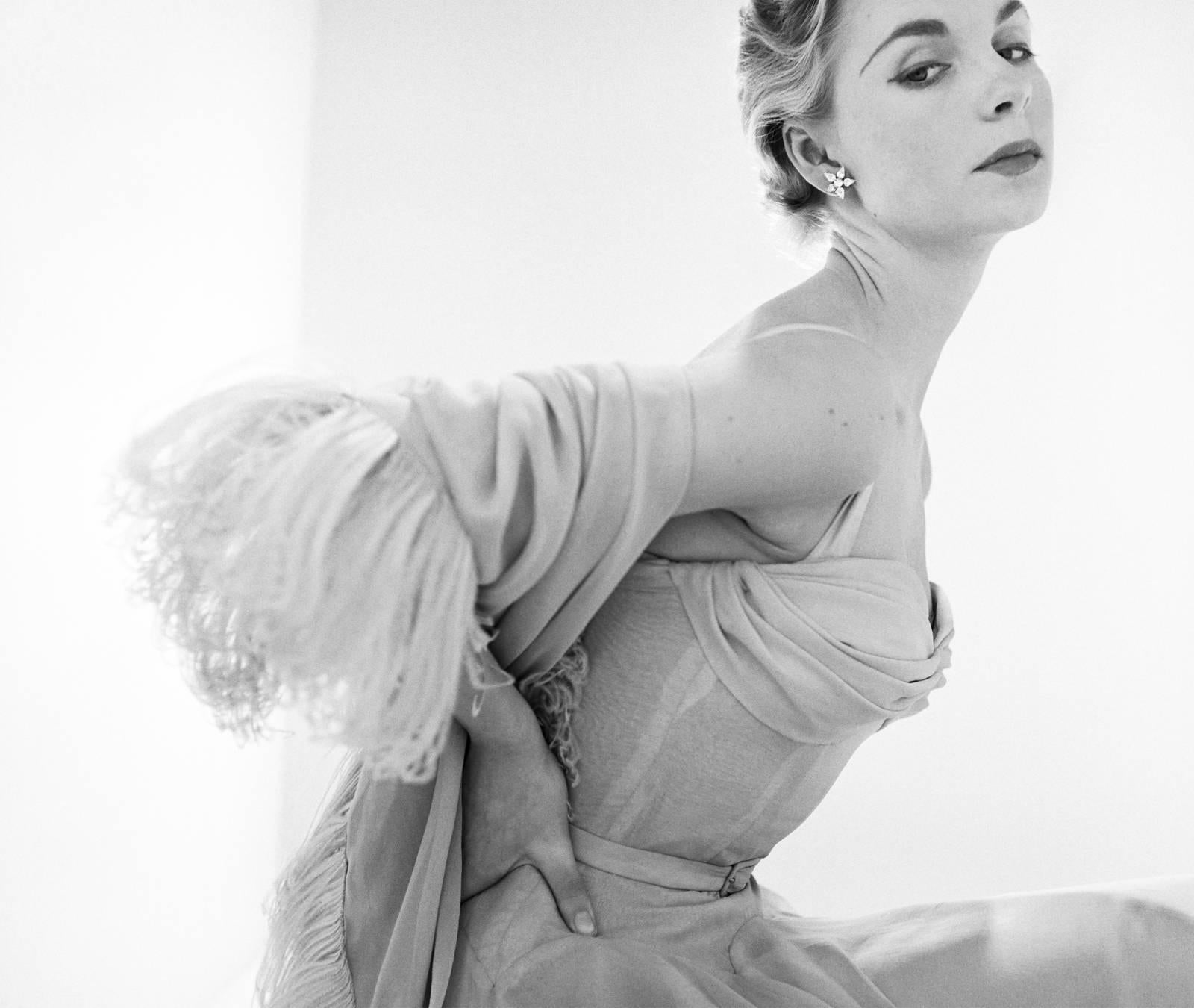 'Evening Dress' Limited Edition silver gelatin V&A Portfolio