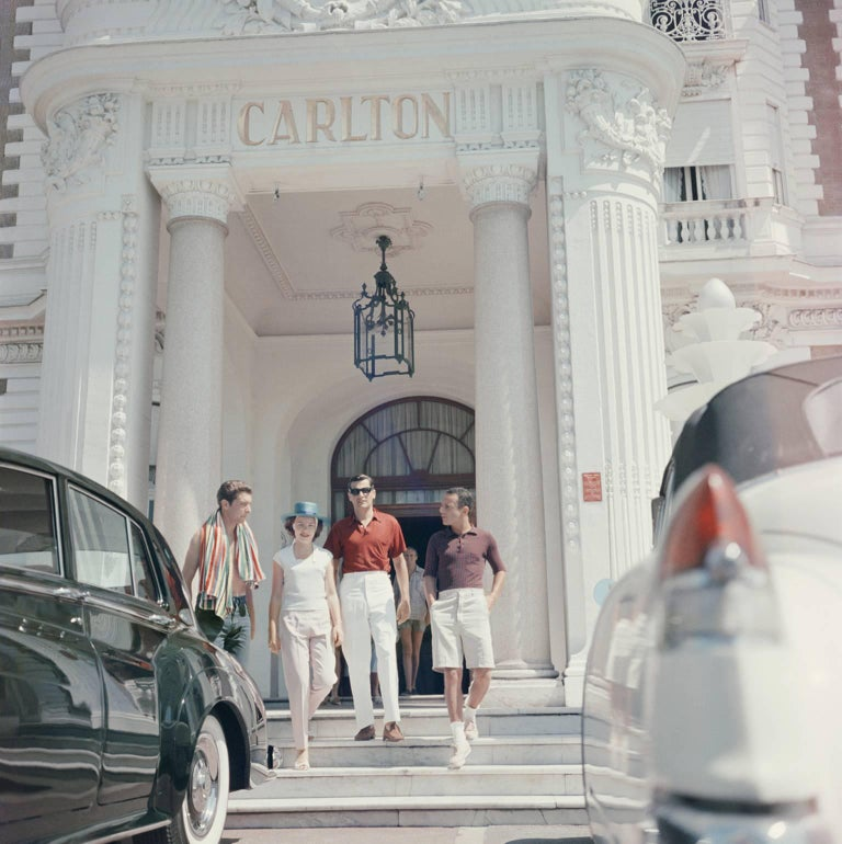 'Staying At The Carlton' Cannes   Slim Aarons C Type Print open edition