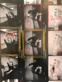 ' Audrey Hepburn Funny Face ' Contact Sheet MAGNUM