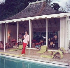 'Family Snapper' Round Hill, Jamaica (Slim Aarons Estate Edition)
