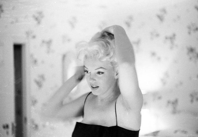 'Marilyn Getting Ready To Go Out' Limited Edition Silver Gelatin Darkroom Print