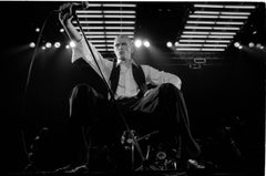 'David Bowie On Stage At Wembley' 1976  (Signed)